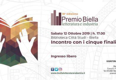 12/10/19 XVIII edizione Premio Biella letteratura