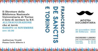 16/11/2019 Francesco De Santis a Torino