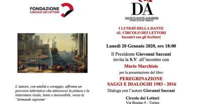 I lunedì della Dante al circolo dei lettori.