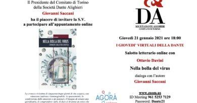21/1/2021 Giovedì della Dante