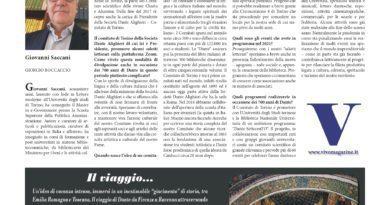 Intervista al nostro presidente Giovanni Saccani